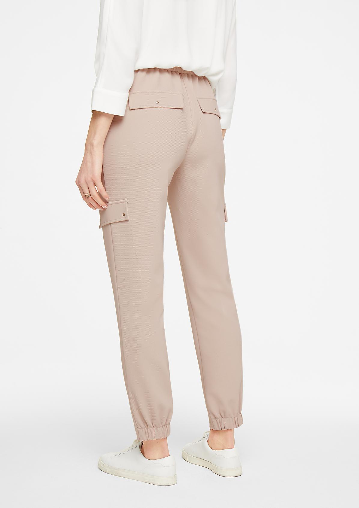 Regular Fit: Jogpants aus Twill