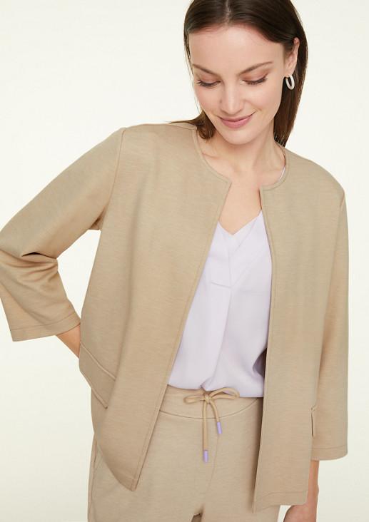 Blazerjacke im cleanen Style