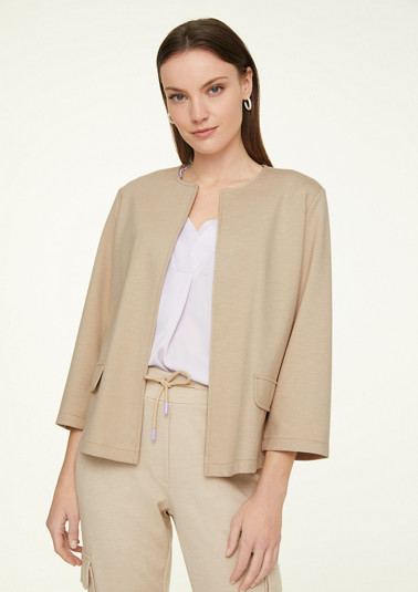 Blazer jacket in a simple style from comma