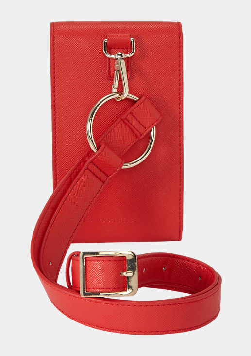 Faux smooth leather belt bag from comma