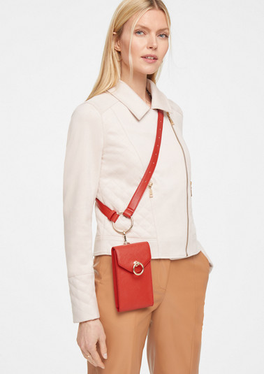 Belt Bag in Glattleder-Optik