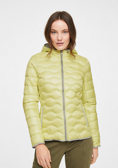Lightweight nylon down jacket from comma