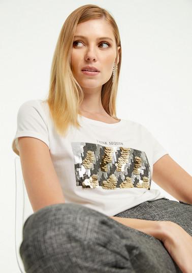 T-Shirt mit Front-Artwork