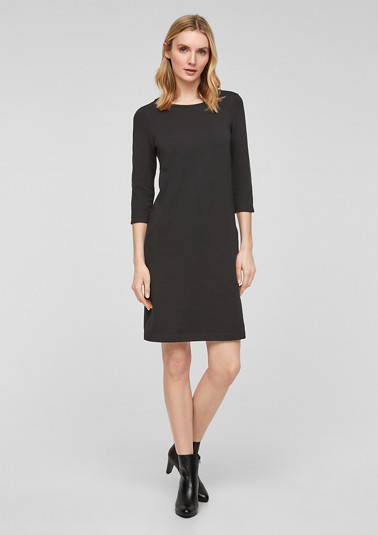 Short dress with slit pockets from comma