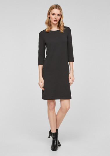 Kurzes Kleid mit Eingrifftaschen