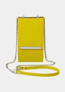 Phone Bag in Glattleder-Optik