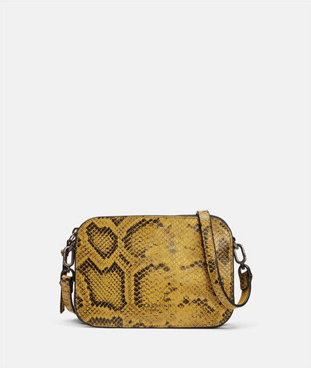 Small shoulder bag in a snakeskin look from liebeskind