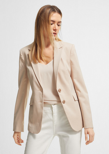 Blazer with stretch lining from comma