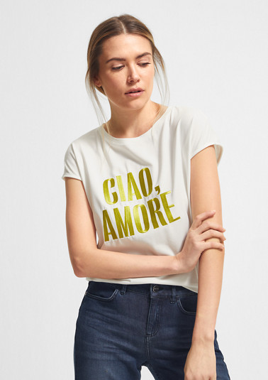 High-quality modal blend T-shirt from comma