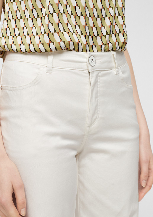 Slim Fit: Wide leg-Jeans