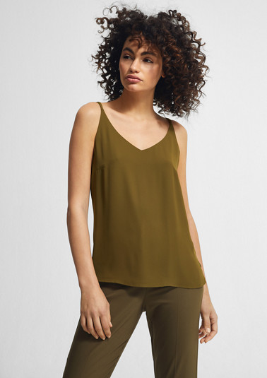 Double layer chiffon blouse from comma