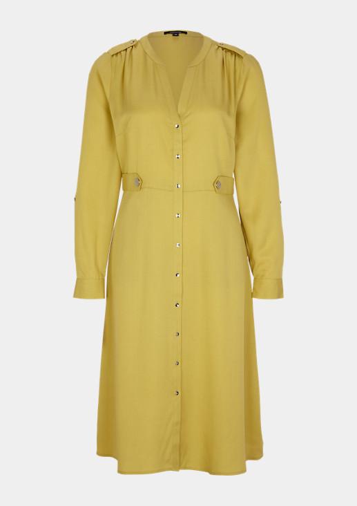 Tailliertes Kleid aus Lyocell