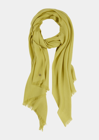 Plain scarf from comma