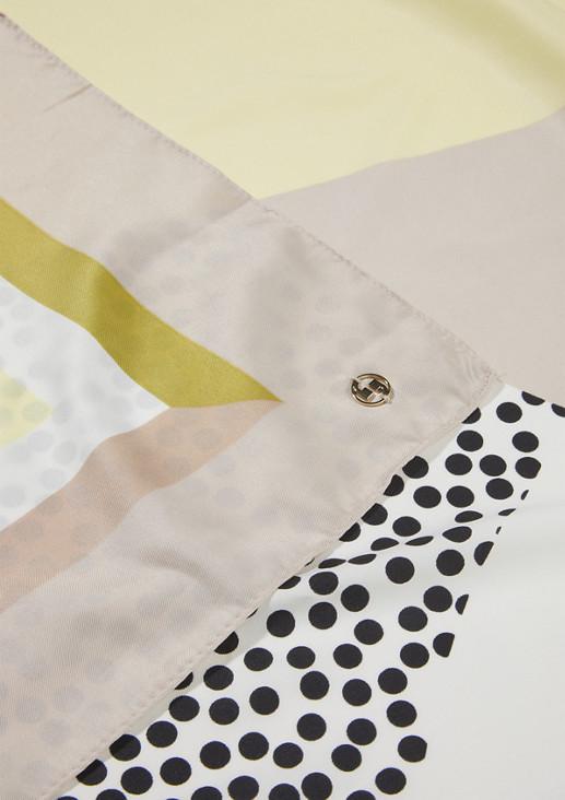 Tuch mit Allover-Print
