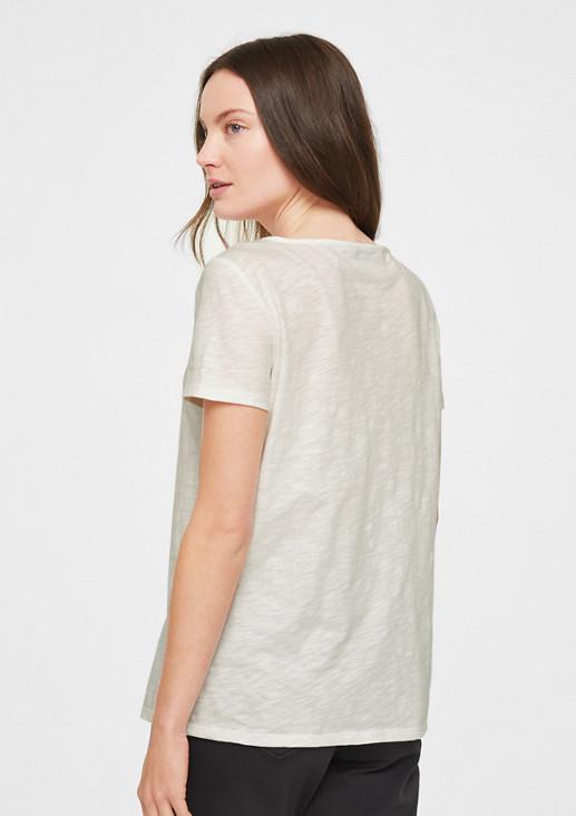 Jerseyshirt mit Ring-Detail