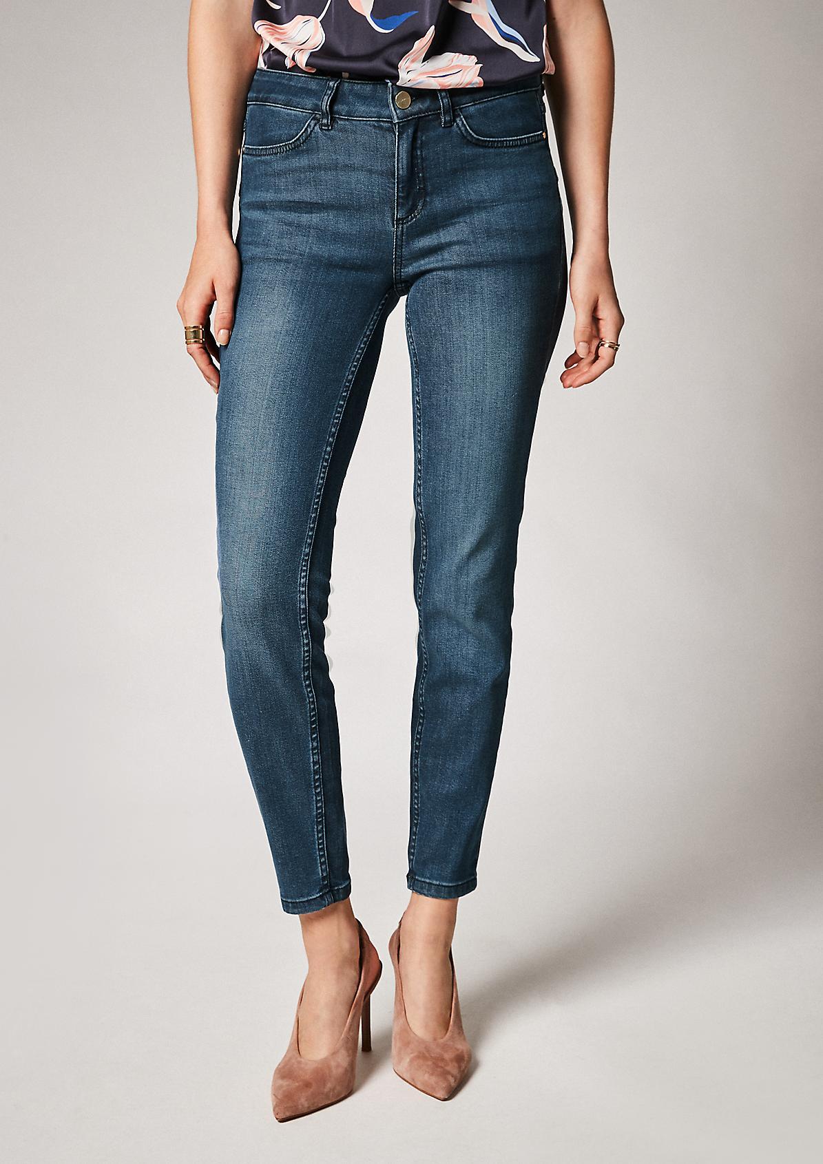 Skinny: Jeans mit Push Up-Effekt