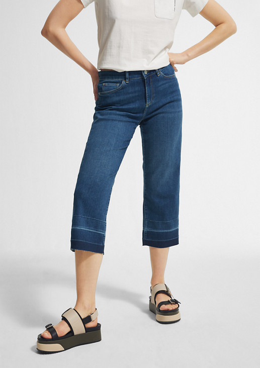 Regular Fit: Jeans mit Cropped leg