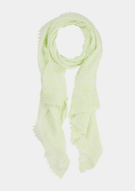 Lightweight scarf with a percentage of silk from comma
