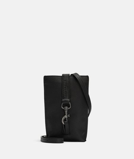 Handy-Handtasche mit Karabinerverschluss