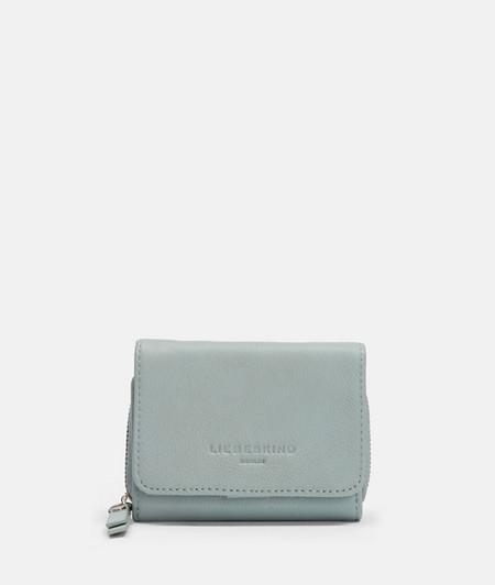 Portemonnaie mit Reißverschluss aus Leder