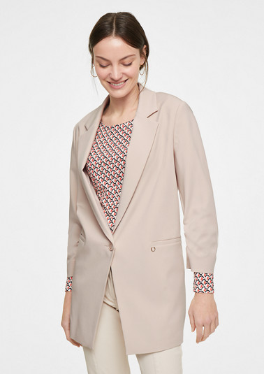 Stretch viscose blazer from comma