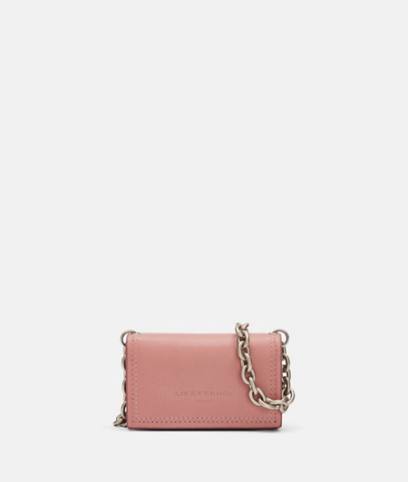 Wallet with shoulder strap with contrasting edges from liebeskind