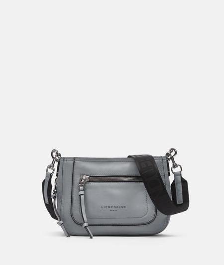 Tasche zum Umhängen mit sehr weichem Glattleder