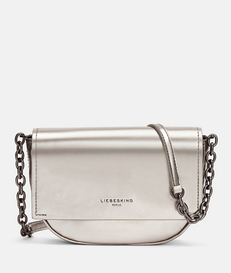 Round leather shoulder bag from liebeskind