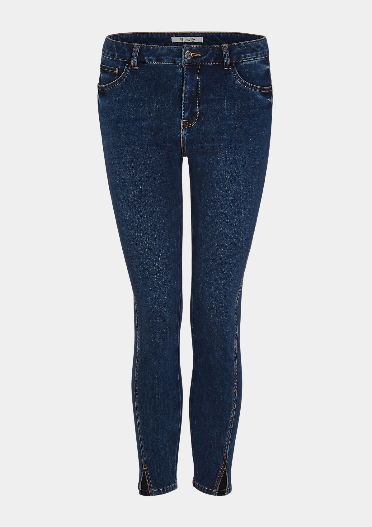 Skinny Fit: Jeans mit Superstretch