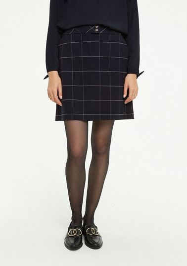 Double-faced short skirt from comma