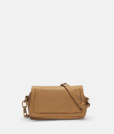 Soft shoulder bag made of lamb leather from liebeskind