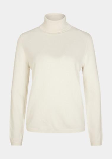 Softer Pullover mit Rollkragen
