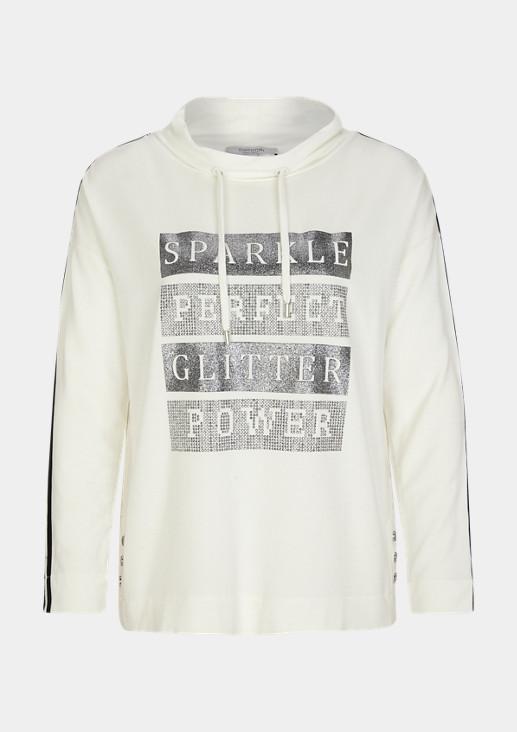 Sweater mit Metallic-Artwork