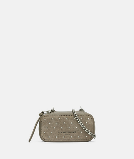 Micro bag with studded trim from liebeskind