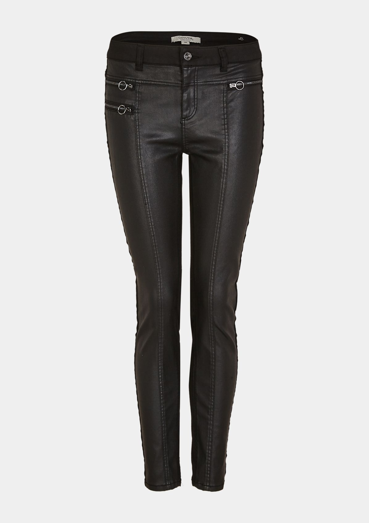 Skinny Fit: Jeans in a mix of materials from comma