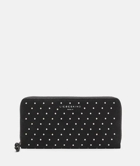 Suede wallet with studs from liebeskind
