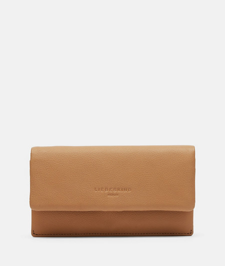 Leather wallet with press stud from liebeskind