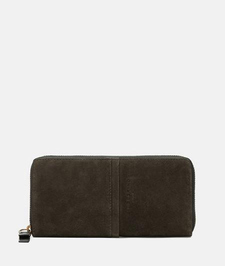Suede wallet from liebeskind