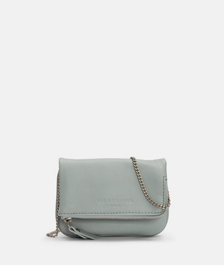 Mini clutch with an elegant chain strap from liebeskind