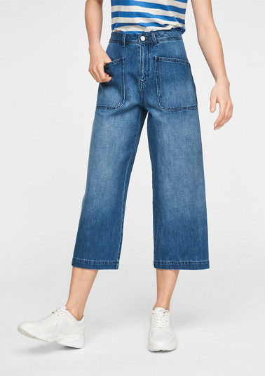 Regular Fit: Culotte aus Jeans