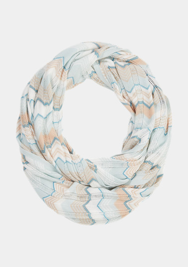 Gemusterter Schal aus Viskose