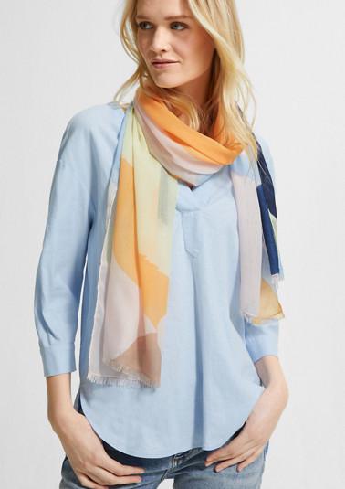 Schal mit Allover-Print