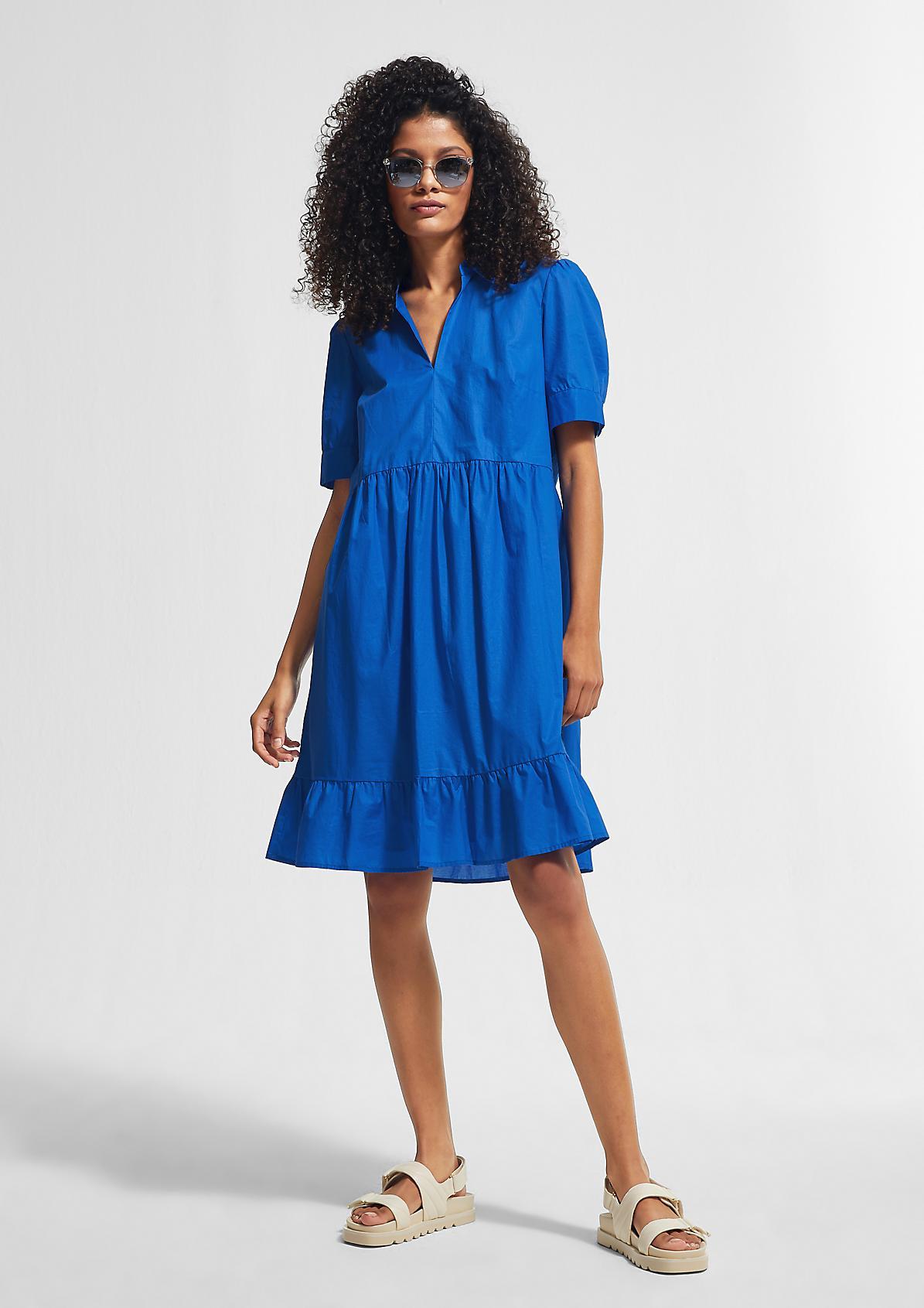 Hemdblusenkleid aus Baumwolle