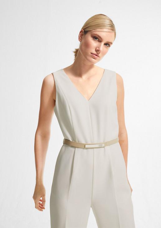 Eleganter Overall mit Gürtel