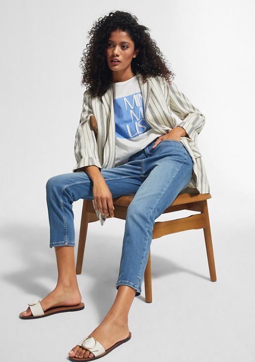 Hyperstretch-Jeans mit Waschung