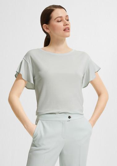 Jerseyshirt mit Flügelärmeln