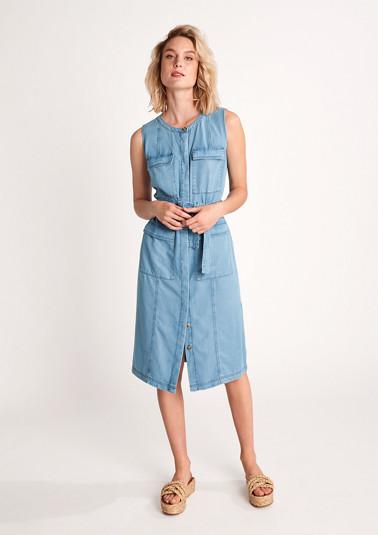 Kleid aus Lyocell-Denim