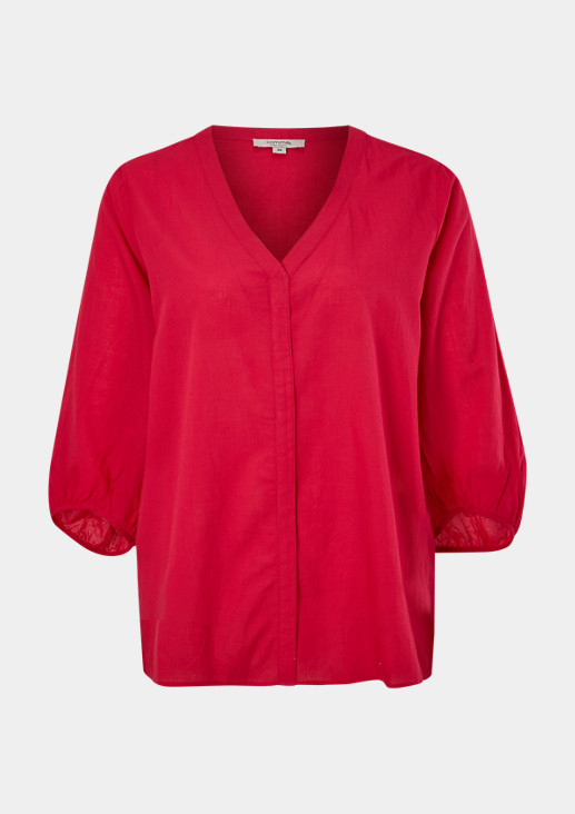 Bluse aus Modalmix