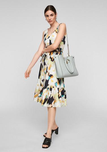 Eleganter Shopper aus Echtleder