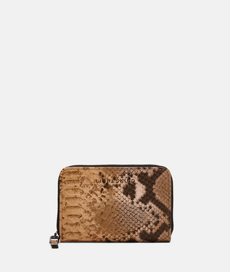Small wallet with snakeskin embossing from liebeskind